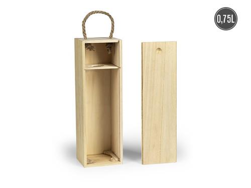 BORDO Drvena poklon kutija za flašu