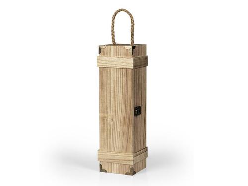 BAROQUE Drvena poklon kutija za flašu