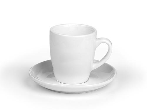 """LUNGO Porcelanska šolja i tacna za """"cappuccino"""" kafu, 150 ml"""