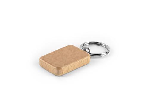 RUSTIC Drveni privezak za ključeve