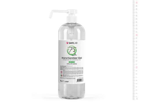 DEZ GEL 1000P Antibakterijski gel za dezinfekciju ruku, 1 l