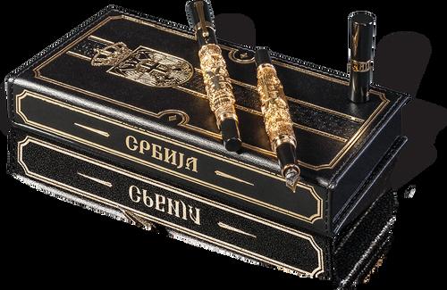 585. Komplet olovka i naliv pero Srbija (1)