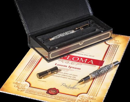 585. Komplet olovka i naliv pero Srbija (4)