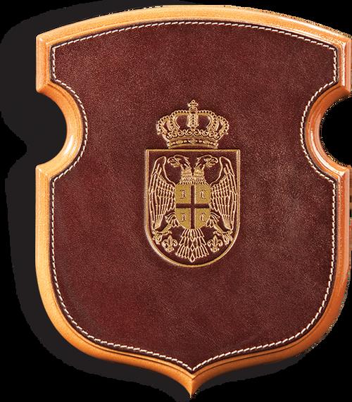 530. Zidna daska za simbole štit
