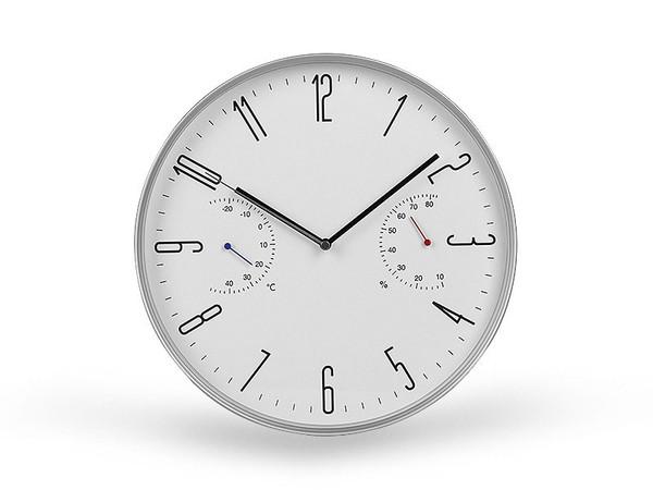 KELVIN Zidni sat sa meračem temperature i vlažnosti