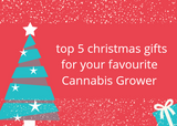 Top Five Gifts for Your Favourite Cannabis Grower