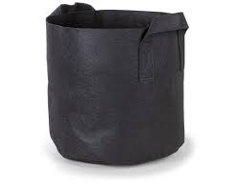Pot pots 5 gal fabric pot w/handle