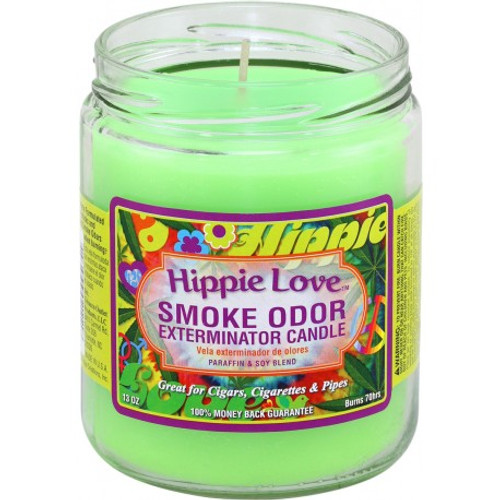 Smoke Odor  Candle - Hippie Love 13oz.