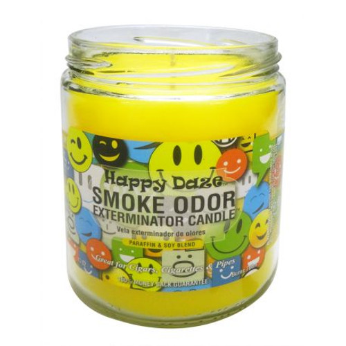 Smoke Odor  Candle - Happy Daze 13oz.