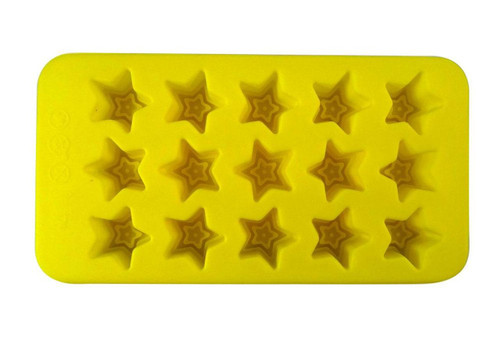 Yellow Stars Gummy Mold