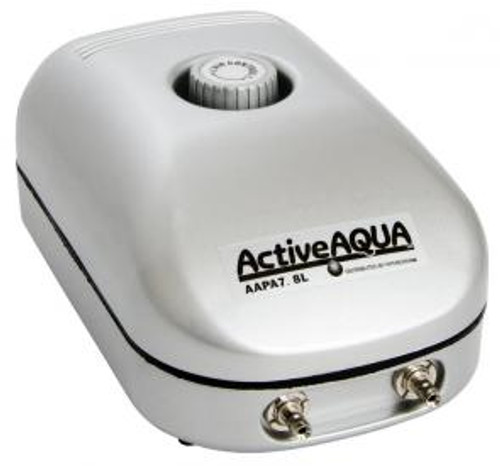 Active Aqua Air Pump, 2 Outlets, 3W, 7.8 L/min