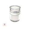 Airless Pump Jars Acrylic Beauty Packaging Container - 30 ml / 1 oz. (White) • 3630