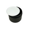 White Plastic Disc Cosmetic Jar Liner 89 mm (48) • 9689