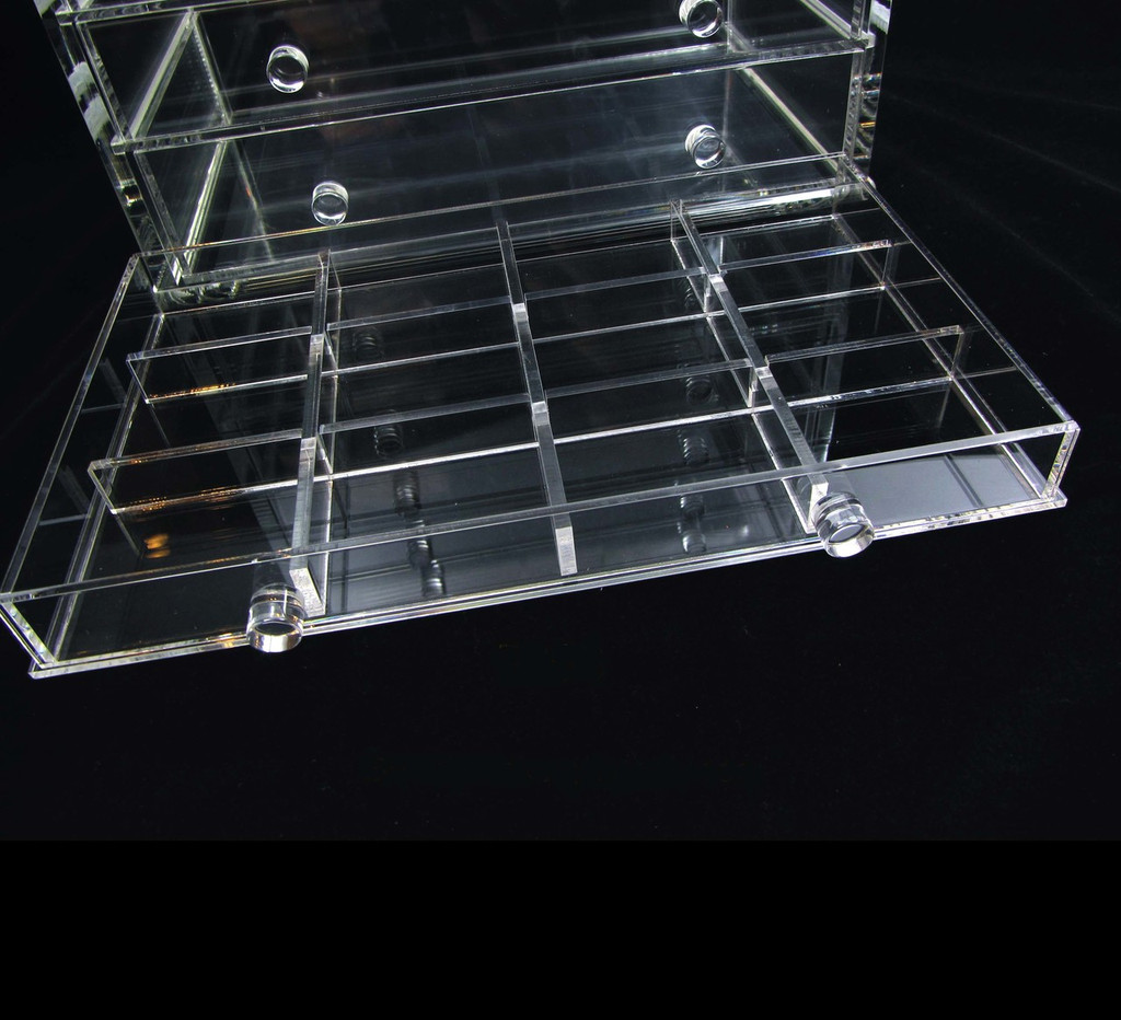 Acrylic 12-Section Dividers Designed for sku# 5692 & 5696 Acrylic Organizers - sku# 5693