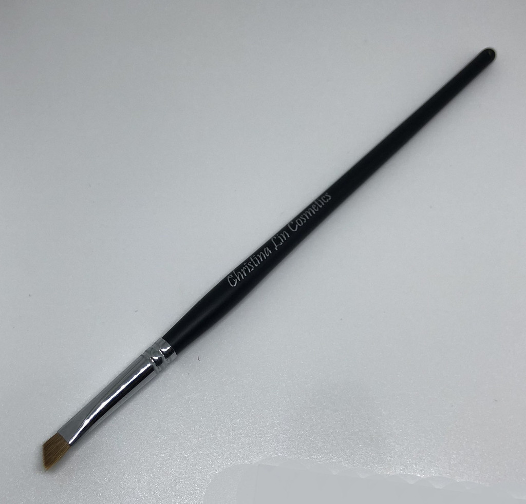 Makeup Brush Sable Angled Eye Liner & Smudger Applicator - sku# 5127