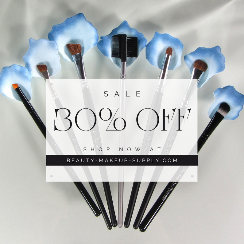 30% Off Makeup Brushes - Limited Time Offer