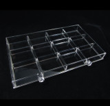Acrylic 12-Section Dividers Designed for sku# 5692 & 5696 Acrylic Organizers • 5693