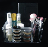 Stackable Acrylic 5-Compartment Cosmetic Beauty Organizers • 5682