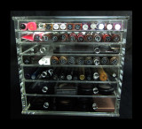 Acrylic Cosmetic & Jewelry Organizer Luxury 7-Drawer Table Top Style • 5696