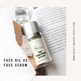 ​Face Oil vs. Face Serum. How to Use Them?