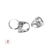 Lip Balm Ring (Clear Plastic)