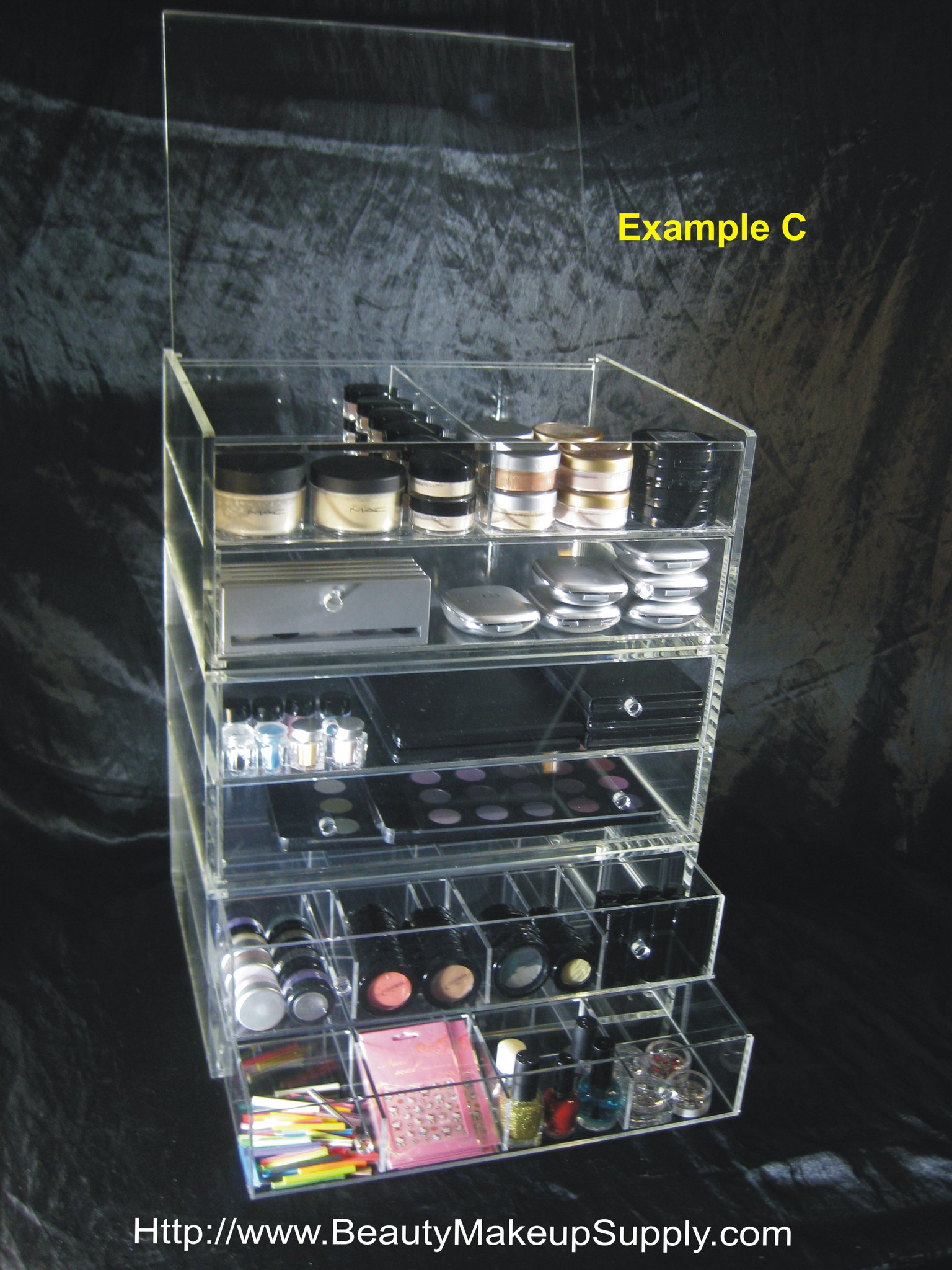 20% Off Acrylic Organizers - Special Promotions at Beauty Makeup Supply