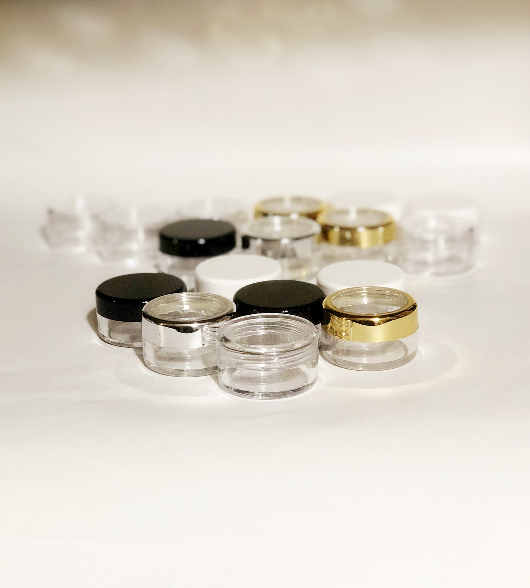 Cosmetic Jars Sold In Singles at Beauty Makeup Supply