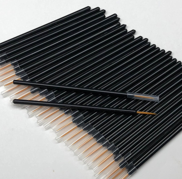 Disposable Fine Eyeliner Wands Lash Growing Serum Applicators  (100)