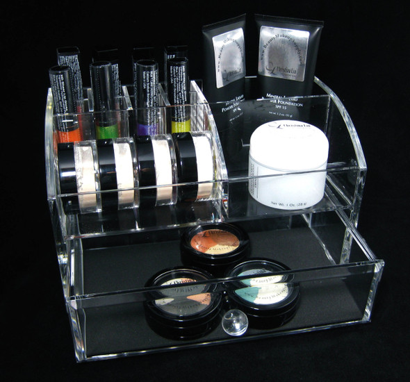 Deluxe Acrylic Cosmetic Makeup Drawer Organizers • 5633