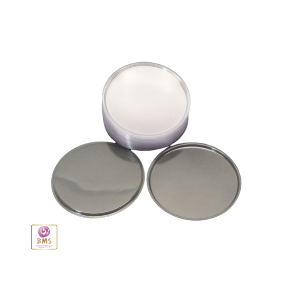 Clear Plastic Disc Cosmetic Jar Liner 70 mm (48) • 9670