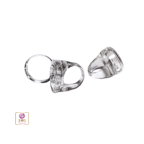 Lip Balm Ring (Clear Plastic)
