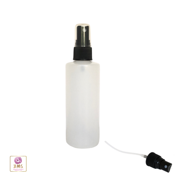 Plastic Spray Bottles 8 oz with black sprayer Beauty Makeup Supply