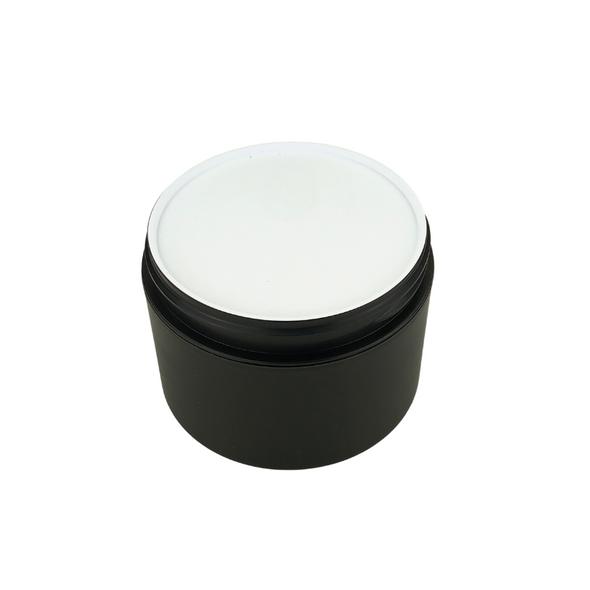 White Plastic Disc Cosmetic Jar Liner 89 mm (48) • 9689