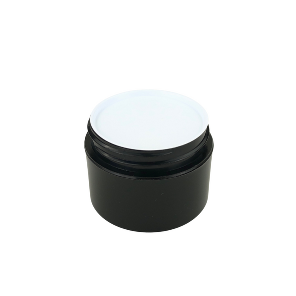 White Plastic Disc Cosmetic Jar Liner 53 mm (48) • 9653