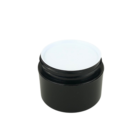 White Plastic Disc Cosmetic Jar Liner 53 mm (48) • 9658