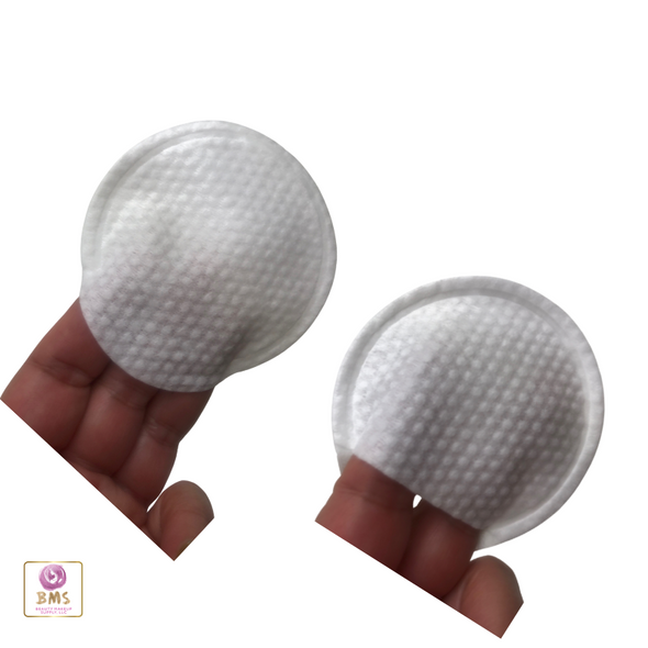 Facial Cleansing Round Textured Makeup Remover Pads with Pocket (100) • 5755