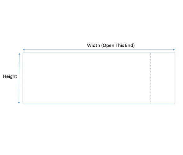 Copy of Shrink Bands Tamper Evident Perforated  Heat Seal - 30 x 69 (145) • 9517
