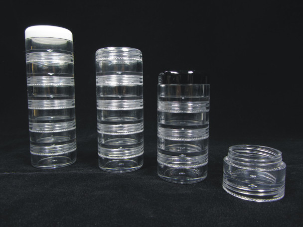 Cosmetic Jar Insert Beauty Container Mid Sections - 5 Gram /  5 Ml • 3215