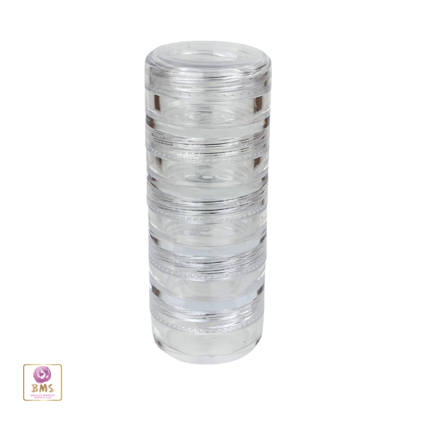 Cosmetic Jars Stackable Beauty Container  - 5 Gram /  5 Ml • 3217