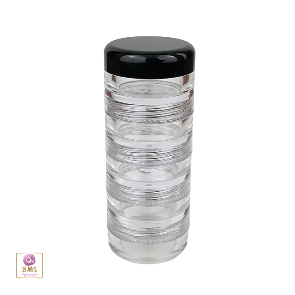 Cosmetic Jars Stackable Beauty Container  - 5 Gram /  5 Ml • 3218
