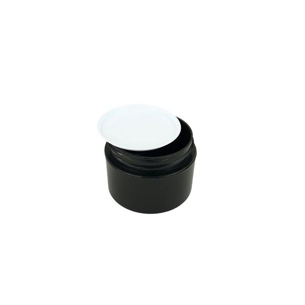 White Plastic Disc Cosmetic Jar Liner 33 mm (48) • 9633