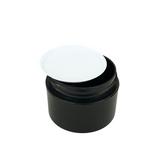 White Plastic Disc Cosmetic Jar Liner 53 mm (48)