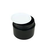 White Plastic Disc Cosmetic Jar Liner 53 mm (48) • 9658
