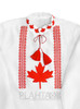 """Men's embroidered shirt """"Canadian"""""""