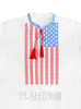 """Men's embroidery """"American"""""""