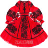"Red tulle dress ""Rose Dreams"""