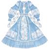 "Blue tulle dress ""Rose Dreams"""