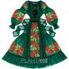 "Green tulle dress ""Rose Dreams"""