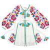 "Embroidered dress ""Floral fantasy"""