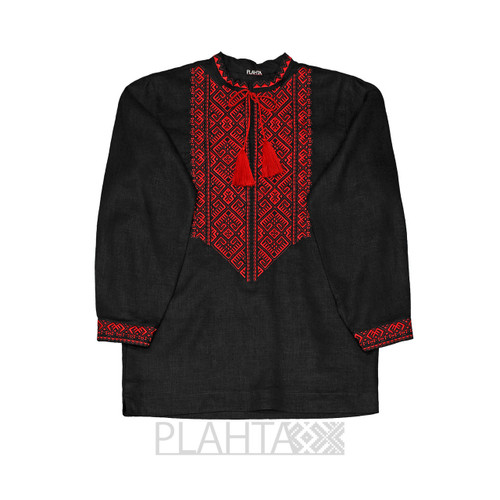 """Men's embroidered shirt """"Earthly Love"""""""